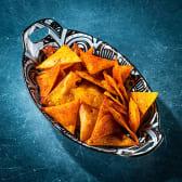 ტორტიას ჩიფსი (საშუალო) / Tortilla Chips (medium)