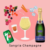 Sangria de Champagne