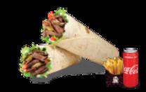 საქონლის შაურმის მენიუ /Beef Shawarma Menu