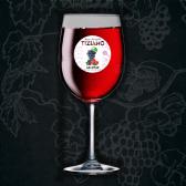 Вино Tiziano Ах Нуар червоне напівсолодке 9-13%, 0,5