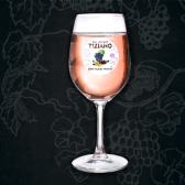 Вино Tiziano, Кристалло Россо Смородинове, рожеве напівсолодке 9-13%, 0,5