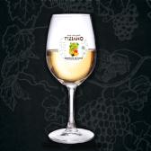 Вино Tiziano, Шанталь де Блан, Персикове, біле напівсолодке, 9-13%, 0,5