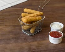 Fingers de mozzarella (6 uds)