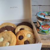 Helado B&J +  6 Cookies