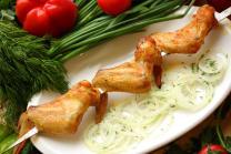 Шашлык из куриных крыльев (185 гр.)