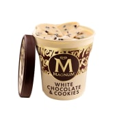 Magnum chocolate blanc and cookie (440ml)