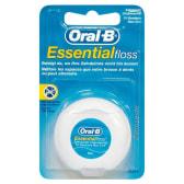 Oral B Essential Floss filo interdentale cerato 50 metri