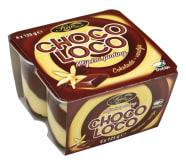 Puding choco-loco 500g 4X125 g