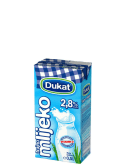 Mlijeko 0,5 l 2,8% mm Dukat