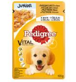 Pedigree junor piletina hrana za pse 100 g