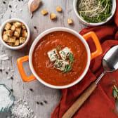 Чорба томатний суп з фетою та травами (270г)