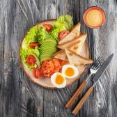 Сніданок з лососем (190/50г)