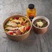 GB Combo 1 (Крем-суп грибний, Цезар з куркою, смузi)