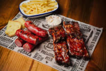 Baby Back Ribs & Dogs