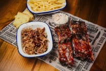 Baby Back Ribs & Pulled Pork