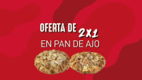 2X1 Pan de Ajo