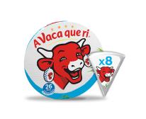 Queijo Fundido Porções Light A Vaca Que Ri 140gr (8un)