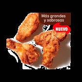 Alitas de pollo x4
