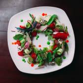 Салат з пряною телятиною і сиром Фета (250г)