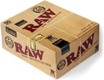 Raw Classic Rolling Paper 50'S King/S