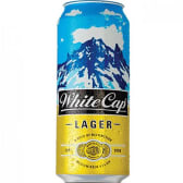 White Cap Lager Can 500Ml