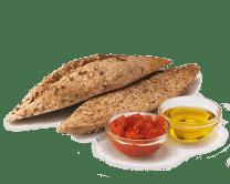 Pan Tostado con Tomate y Aceite