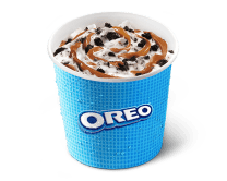 McFlurry® Oreo con Caramelo