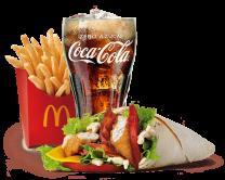 McMenú® McWrap® Chicken & Bacon
