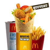 Best Of Grand McWrap Sauce Miel Moutarde