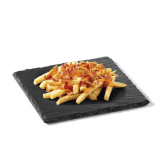 King Fries (+ Cheddar Bacon Cebolla) al 50% de descuento