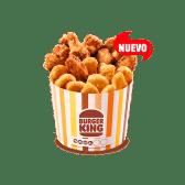 Cubo alitas + Nuggets x10