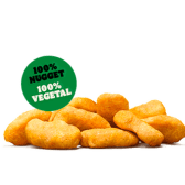Nuggets vegetales x9