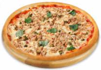 Tuna fish pizza