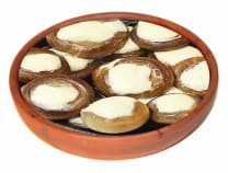 mushroom casserole with cheese