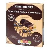 Barras de Cereais Chocolate Negro/Amendoim Continente (emb. 125 gr)