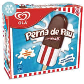 Gelado Perna de Pau Olá (emb. 420 ml (6 un))