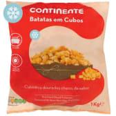 Batatas em Cubos Continente (emb. 1 kg)