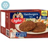 Hamburgers de Vaca sem Glúten Capitão Iglo (emb. 640 gr (8 un))