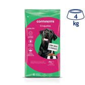 Ração para Cão Croquetes Continente (emb. 4 kg)
