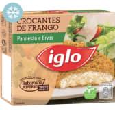 Crocantes de Frango Parmesão e Ervas Iglo (emb. 180 gr (2 un))
