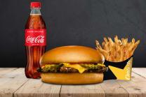 Menú Cool Kids Cheeseburger