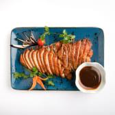 233. Teppanyaki de pato asado en salsa especial