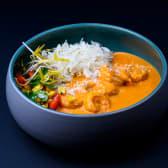 Червоний карі з креветкою та жасміновим рисом (310г)
