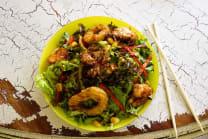 ზღვის პროდუქტების სალათი