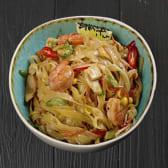 Рисова локшина пад-тай з морепродуктами (350г)
