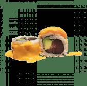 123. Uramaki California spicy atún (8 uds)