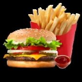 Чізбургер меню