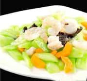 Concombre avec Oeufs & Crevettes