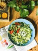 Свіжі овочі з Турецьким соусом та соусом Чімічурі (280г)