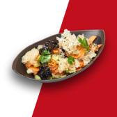 Салат з деревними грибами та овочами у азіатському маринаді (280г)